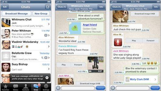 whatsapp versión 2.11.3