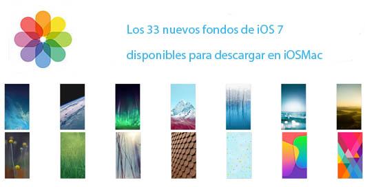 Les ofrecemos los 33 nuevos Wallpapers de iOS 7 [archivo Zip]