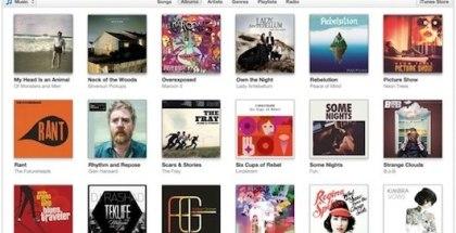 iTunes-11-versión 11.1.1-Albums