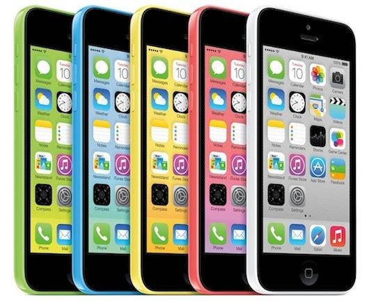 iPhone 5c y el iPhone 5s el 25 de octubre