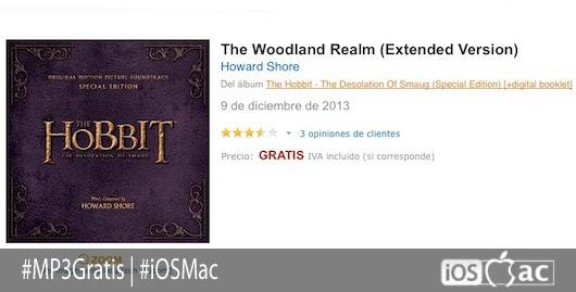 MP3 gratis banda sonora de El Hobbit-iosmac