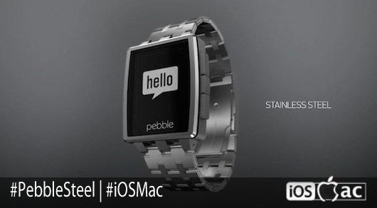 Pebble Steel-iosmac