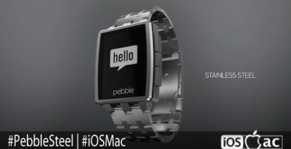 Pebble Steel-iosmac