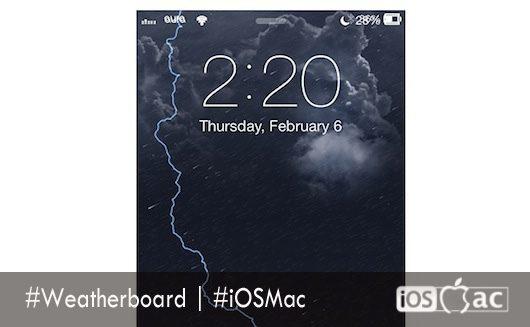 weatherboard cydia-iosmac