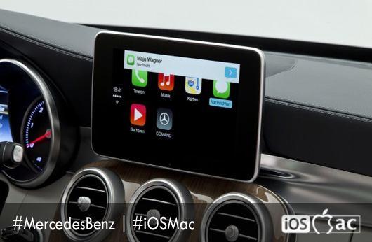 Mercedes-Benz muestra la integración de CarPlay-iosmac