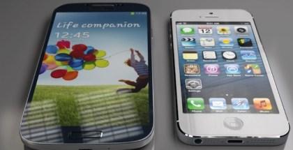 iPhone-5s-galaxy-s4-Estabilidad de las aplicaciones en iOS y en Android -iosmac