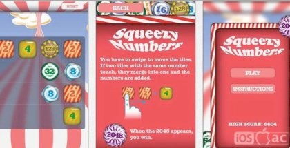 2048 Squeezy Numbers-iosmac-