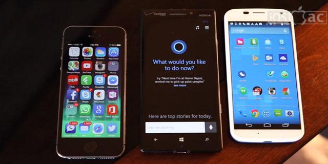 Siri vs Cortana vs Google Now-vídeo-iosmac