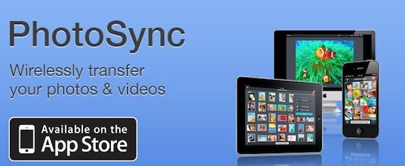 PhotoSync: Transfiere tus fotos o vídeos de forma inalámbrica.