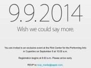Apple envía invitaciones para el evento del día 9