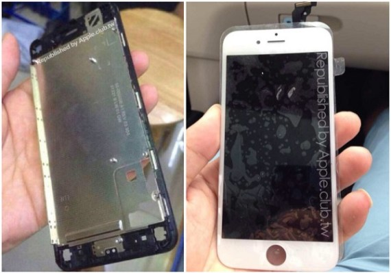 Frontal del iPhone 6-iosmac
