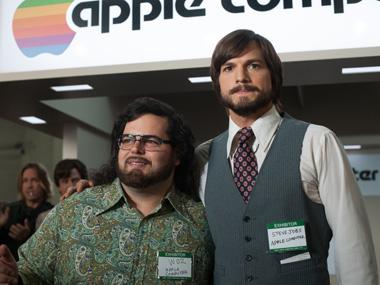 El stand de presentación de Apple