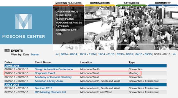 WWDC 2015 será en el Moscone Center del 8 al 12 de junio-iosmac