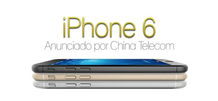 El iPhone 6 anunciado por China Telecom