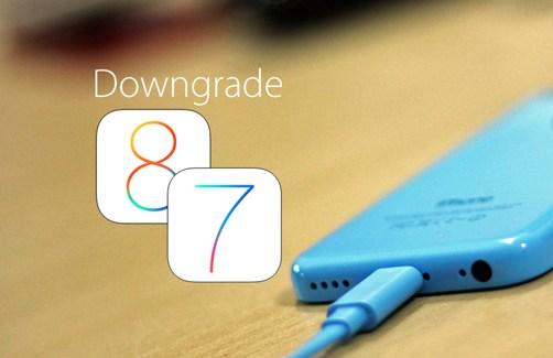 Downgrade iOS 8 a iOS 7.1.2 de forma fácil