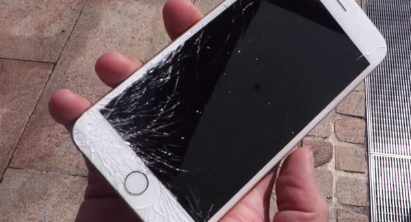 Dropped, cuando un iPhone 6 toca el suelo