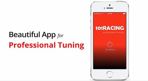 101 Racing, la app para los fans del motor -iosmac