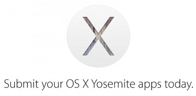 Apple pide a los desarrolladores que publiquen apps para Yosemite