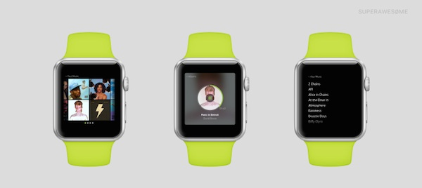 Apple Watch Spotify