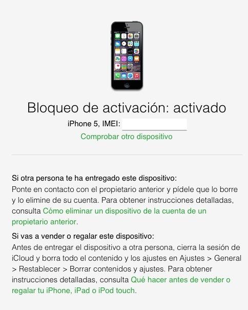 Bloqueo de iCloud - ON - iosmac