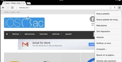 Chrome para iOS ya integra un acceso directo a Google Drive - iosmac
