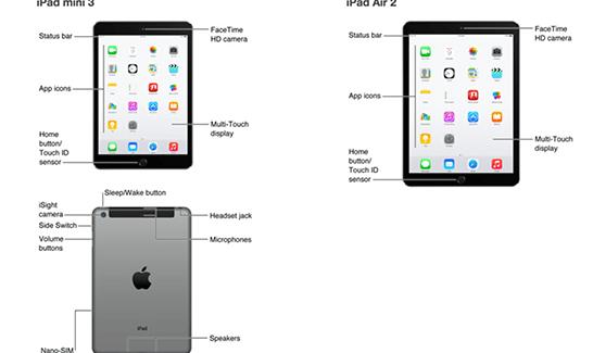 """Un """"error"""" básico de Apple desvela los nuevos iPad"""