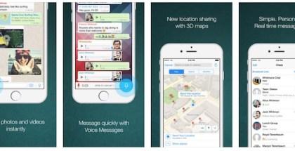 WhatsApp para iPhone 6 por fin disponible - iosmac