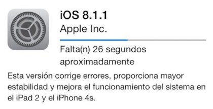 iOS 8.1.1 disponible- iosmac