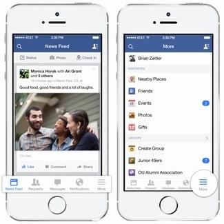 Facebook sigue esforzándose en tener varias aplicaciones en iOS