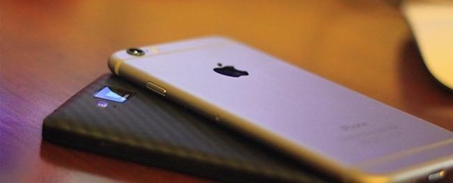iPhone supera a Android en número de compras on-line