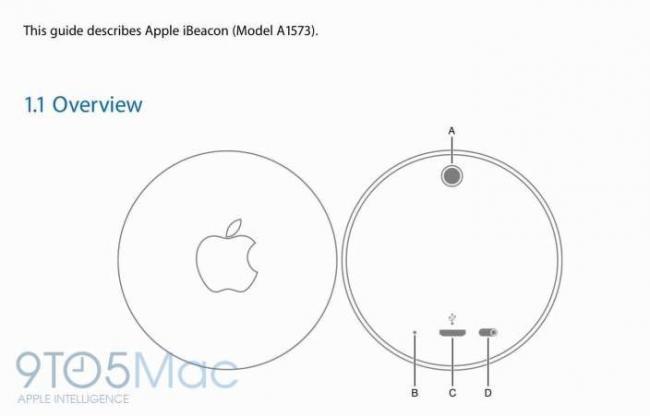 Manual de Apple IBeacon disponible.