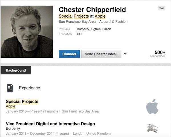 Chester Chipperfield - Linkedln