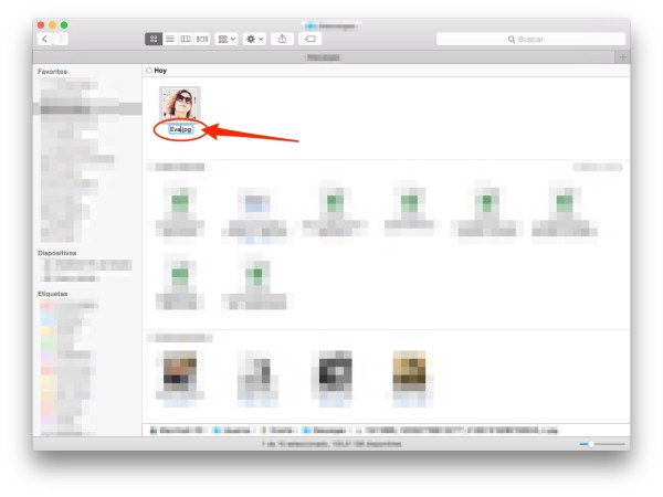 Edita el nombre rápidamente / Edit file names quickly