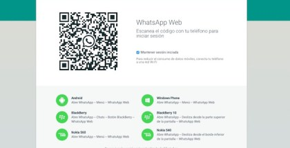 Como activar WhatsApp Web para iPhone