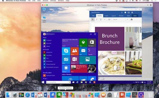 Parallels Desktop 10 windows 10