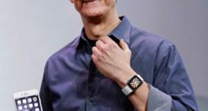Tim Cook y su Apple Watch