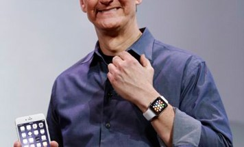 Tim Cook y su Apple Watch