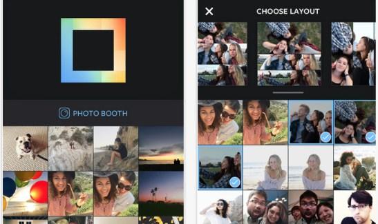 Instagram lanza Layout, la nueva app para hacer collages
