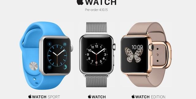 Apple Watch: precios detallados y de sus accesorios