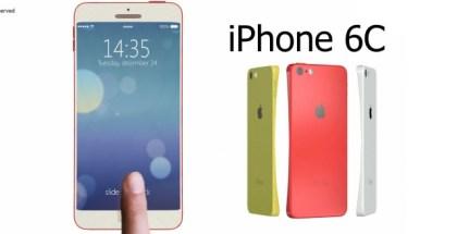 Apple presentará un iPhone 6C, 6S y 6S Plus