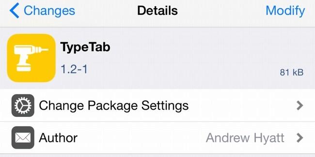 TypeTab para facilitarte el trabajo a la hora de abrir una nueva pestaña en Safari