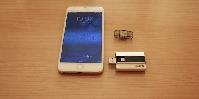 SanDisk iXpand - iphone 6 plus