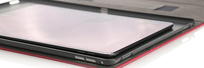 """iPad Pro 12 """" comparado en tamaño con el iPad Air"""