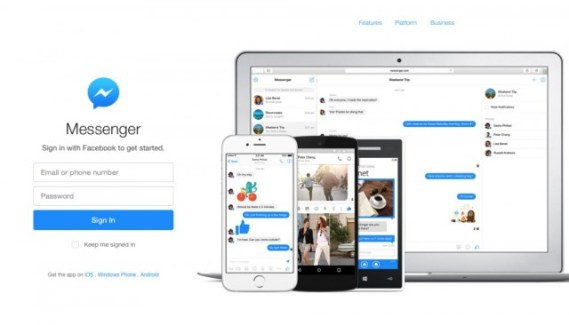 Facebook lanza su versión de Messenger Web