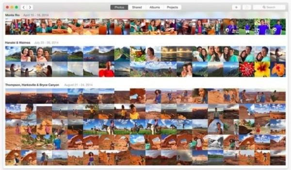 nueva app de fotos en osx 10.10.3