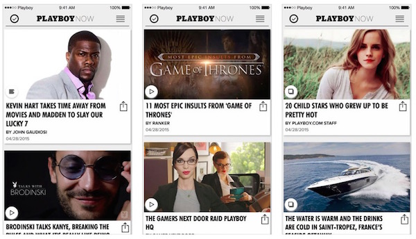 Playboy Now - ios