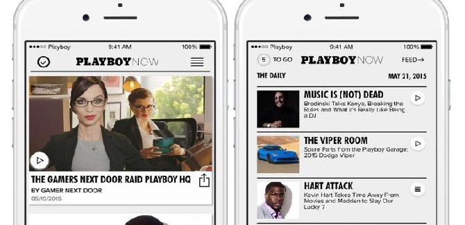Playboy Now disponible para iOS gratis