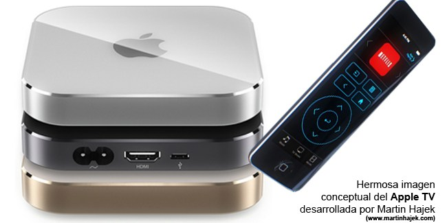 El Apple TV 4 se lanzaría en Octubre y por menos de 200€