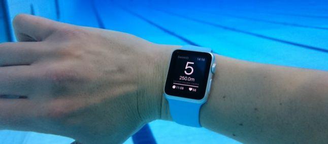 Diseñan para el Apple Watch la primera app para nadadores