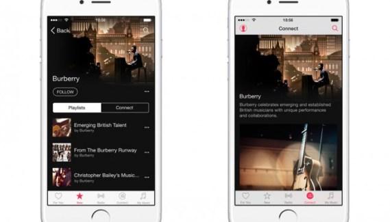 Burberry se convierte en música y lanza un canal en Apple Music